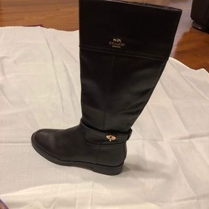 Coach Eva Riding boots